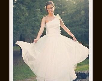 Boho Wedding Dress  'ODETTE'