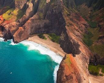 Na Pali Grandeur (Na Pali Coast, Kauai, Hawaii)