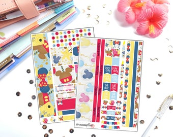 Fall into Disney Month View Kit for Erin Condren Life Planner