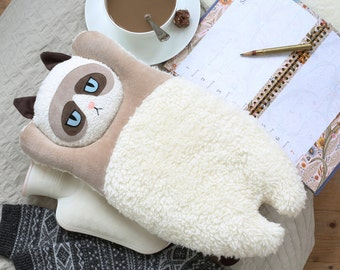 Grumpy Cat, Hot water bottle cover, kitten, Living at home, wellness, decoration, woodland animals, gift, cat, home