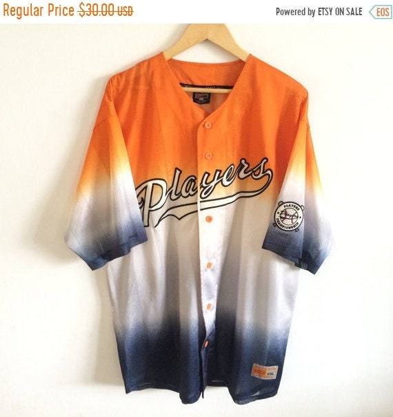 Vintage KIC Players Jersey Players Spellout Hip Hop Jersey Multicolors Jersey iWnrq6