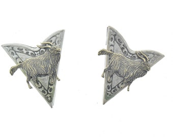Collar Tip , Western Collar Tip, Goat set, for the old goat around ,LOL , 1 pair , CT-02564