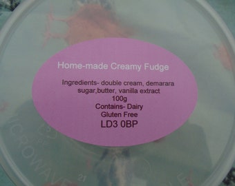 Home- Made Creamy Fudge