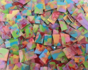 Mosaic Tiles Orange Red Pink Yellow Blue Purple and More hp Mosaic Tile