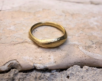 Delicate Wedding Ring Statement Ring Friendship ring Wedding Band Gold Ring Gold Wedding Band Engagement Ring Thin Ring Bridal Anniversary