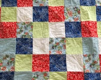 Handmade Lap Rag Quilt