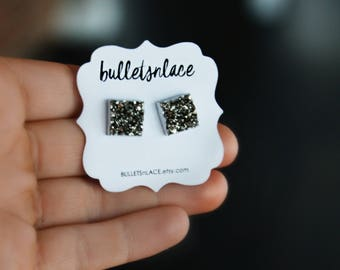 Sale Studs, Earrings, Stud Earrings, Hypoallergenic, Druzy