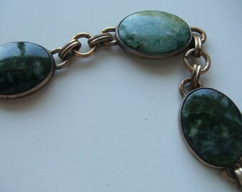Vintage Oval Link Bracelet