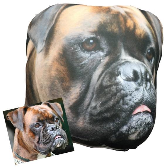 Customized Smush Face Pillow (Your Pet's Face on a Pillow) Pet
