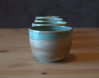 Handmade, Wheel thrown, porcelain | Matcha Bowl