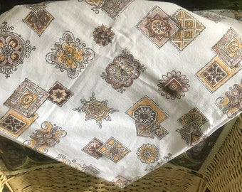 Vintage Fifties Card Tablecloth