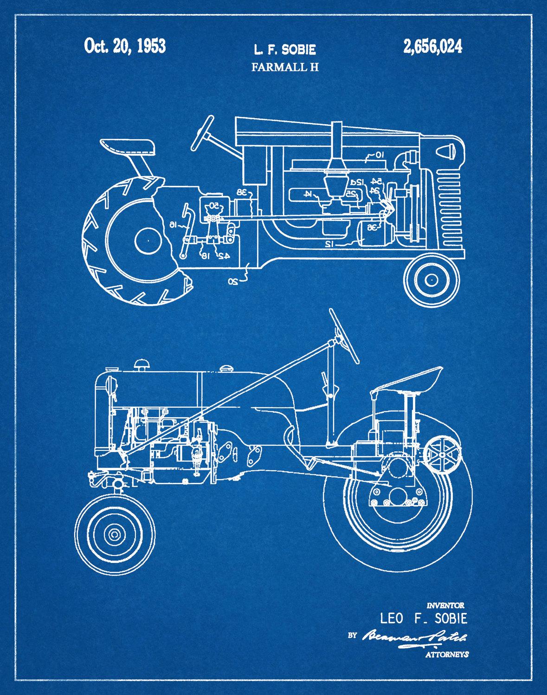 Fantastisch Farmall International Traktor Schaltplan Zeitgenössisch ...