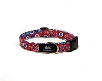 4th of July circles collar