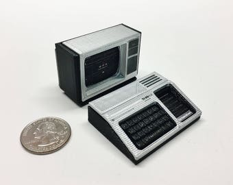 Mini Texas Instruments TI-99/4A Deluxe Set