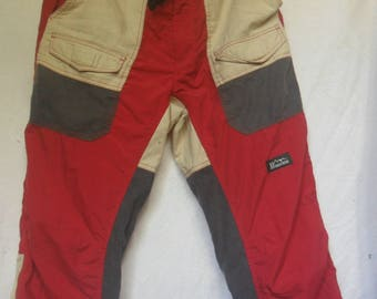 Vintage Manastash Hiking Pants//Fine quality mountain product//Made in Japan