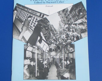 Life In Old New York Photo Postcards by Hayward Cirker