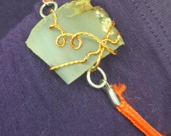 Clear Quartz Slab Bracelet