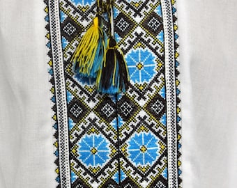 Ukrainian embroidery mens vyshyvanka shirt Ukrainian gift Handmade embroidered dress shirt Made in Ukraine
