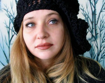 3 PATTERN Versions For Renaissance Medieval Slouchy Hats