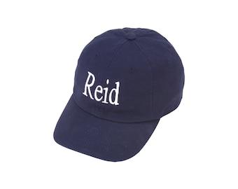 Toddler Monogrammed Cap