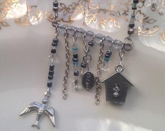 Vogelhäuschen Traum Halskette