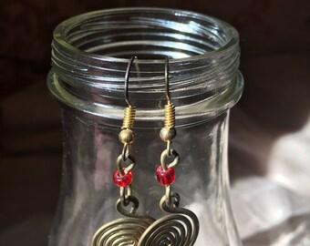Beautiful Spiral Earrings