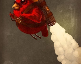 Rocketbird - Limited Edition Print