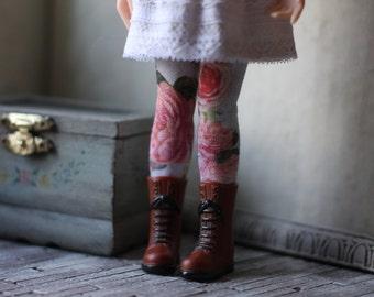 Rose Garden Blythe Doll Stockings