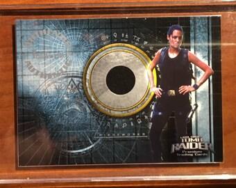 Lora Croft Tomb Raider Swatch Card