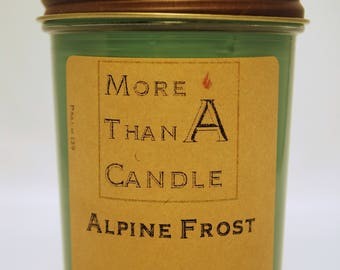 8 oz Alpine Frost Soy Candle