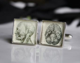 Vintage Anatomy Cufflinks