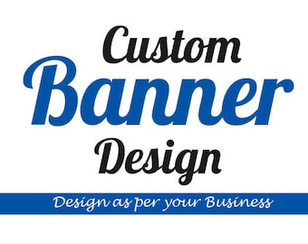 Banner Design with custom, Web Banner, Event Banner, Facebook Banner, Branding Banner