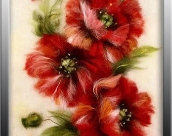 "Beatiful painting ""Red poppies"""