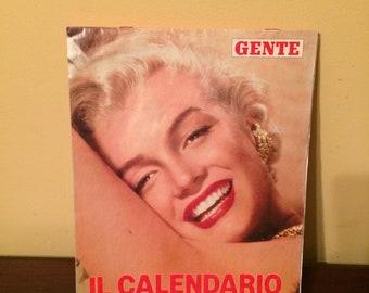 Vintage 1992 Marilyn Monroe Italian Calendar