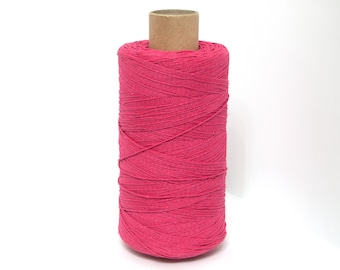 Bakers Twine , Cotton Bakers Twine, Crimson Twine, Bakers Twine, Gift Packing Twine Crafting, roll candy stripe, Natural twine by EcoGG