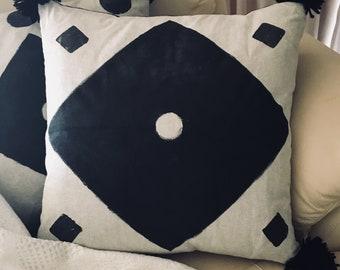 Handprinted Cushion