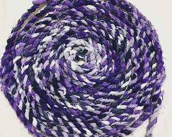 Handmade cotton fabric twine / rope