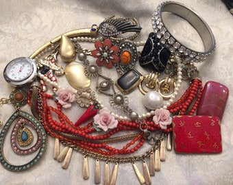 Jewelry Lot for Repair, Parts or Crafting - Mixed Lot