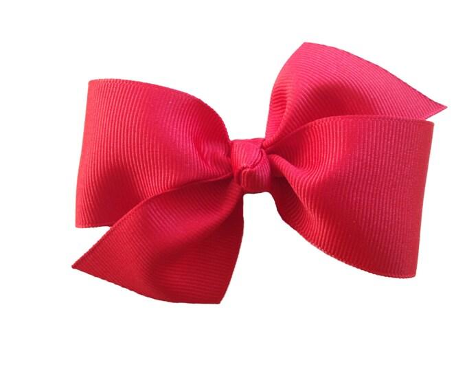 Classic hair bow - hair bows, hair bow, hair clips, bows, hair bows for girls, baby bows, baby hair bows, toddler hair bows, hairbows