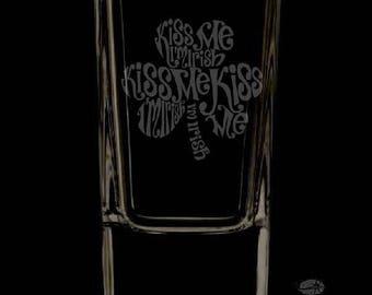 2,5 onces irlandais personnalisé verre à Shot