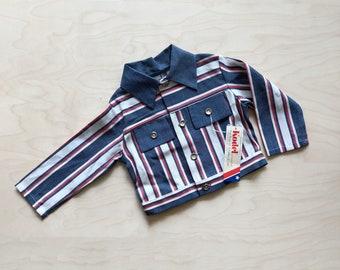 Deadstock 70's Kid's Striped Jacket