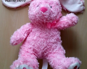 Personalized Stuffed Bunny