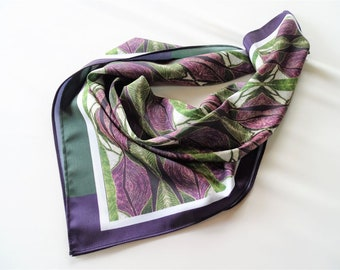 silky scarf