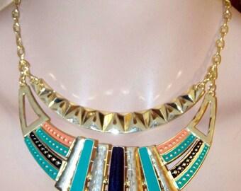 Choker, Necklace, Egyptian Choker, Egyptian, Adjustable Choker, Egyptian Jewelry, Tribal Necklace, Tribal, Tribal Choker
