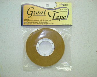 "ATG Great Tape Dry Adhesive by USArtQuest 1/2"" x 36 yards"