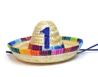 Fiesta Birthday Party || Taco Bout A Party Hat || Child Sombrero || Uno Party Hat || Cinco De Mayo || Add Any Number/Color