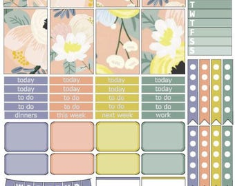 Emily | Weekly Printable Planner Kit