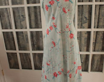 Plaza Square Floral Maxi Dress