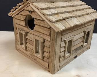 Birds-Old Cabin Birdhouse