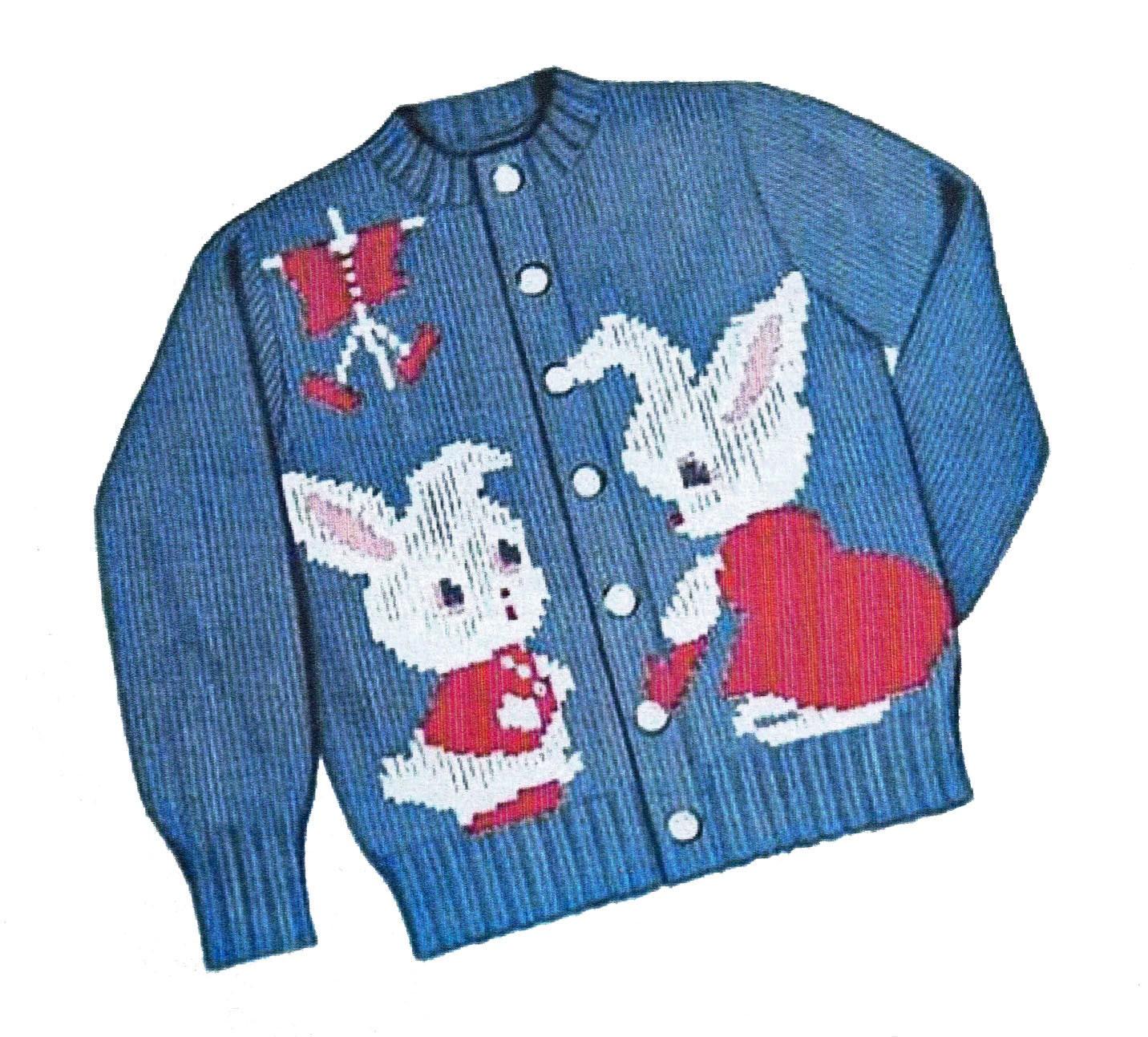 Peter Rabbit Sweater PATTERN Knit O Graf 203 cardigan pullover